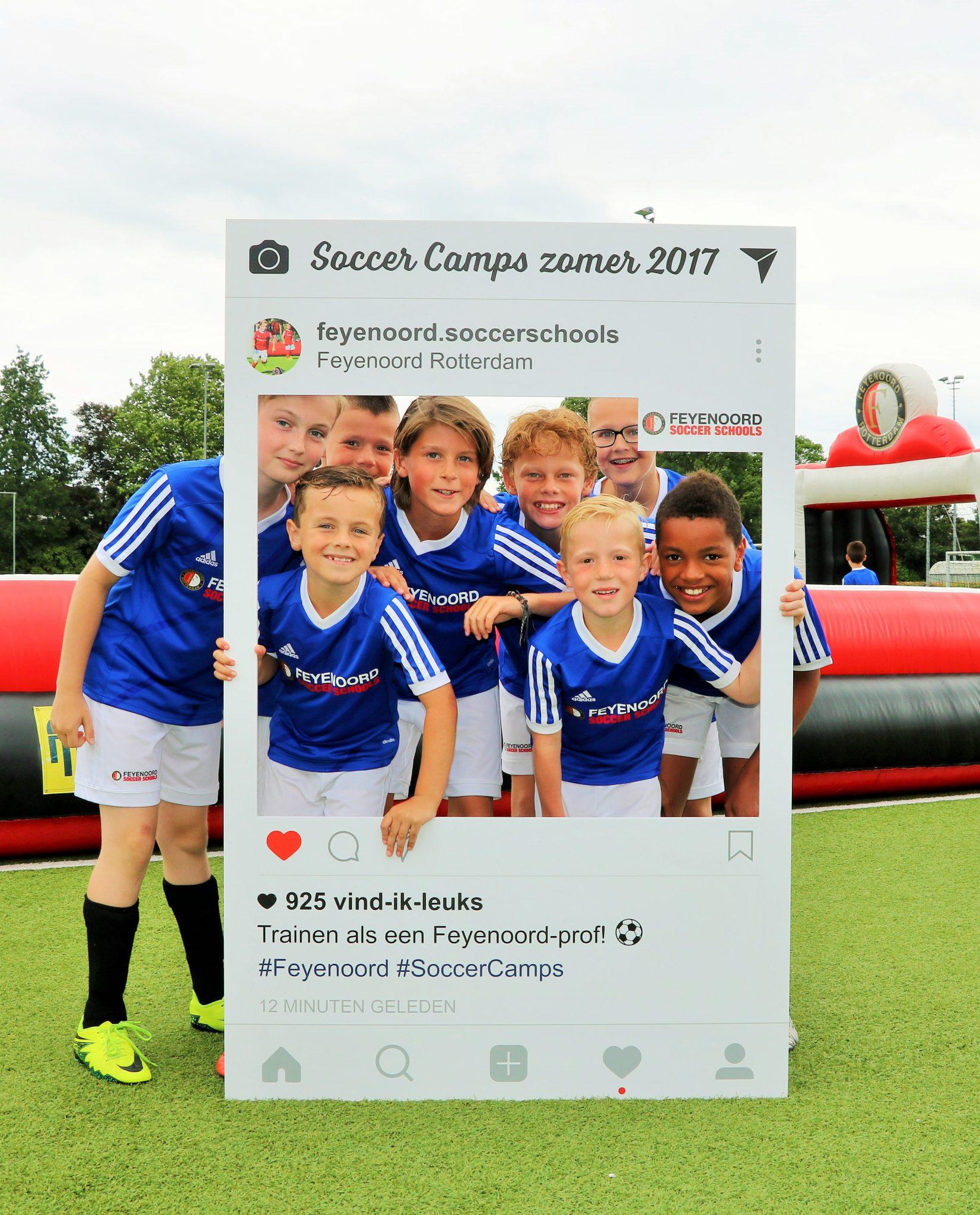 Feyenoord soccer Camp bij vv Internos