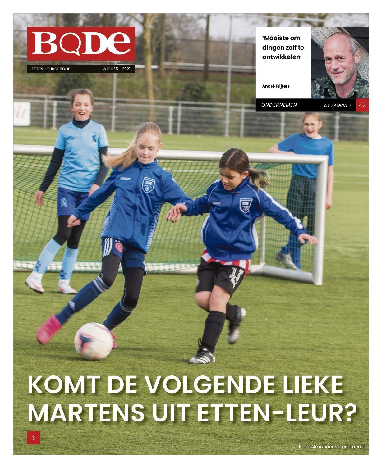 Uit de Bode: DSE heeft grootste meidenafdeling van Etten-Leur: 'Ons team speelt al jaren hoofdklasse'