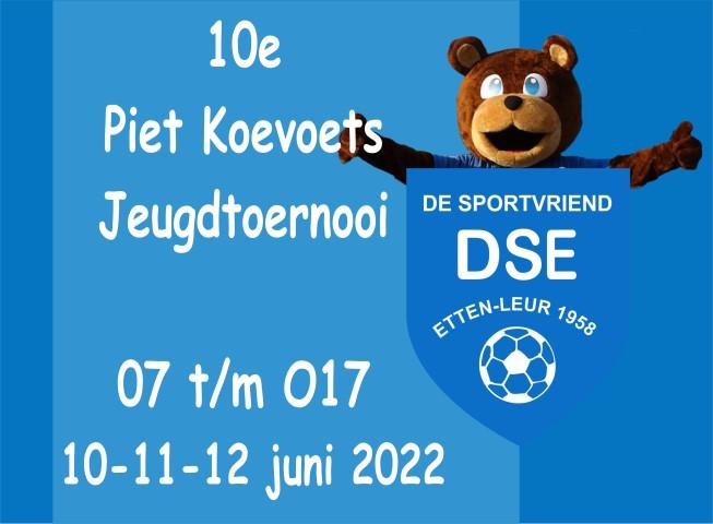 10e Piet Koevoets toernooi