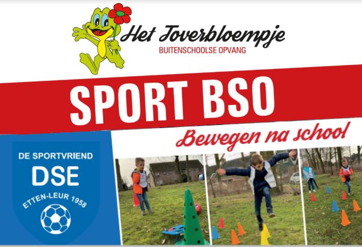 Sport BSO Het Toverbloempje bij DSE