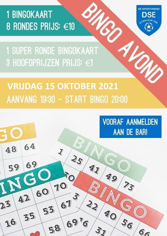 Bingo 15 oktober